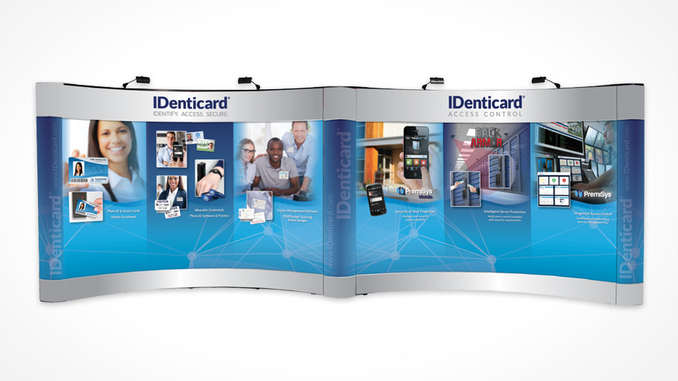 Trade Show Booth Graphic Design : Creative trade show booth designs identicarddigital