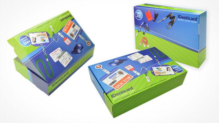 Product Sample Box - Graphic Design